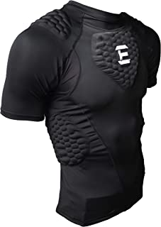 EliteTek Padded Compression Shirt - CPS14 - Youth and Adult Sizes