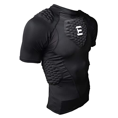 ace61223201 EliteTek Padded Compression Shirt - CPS14 - Youth and Adult Sizes