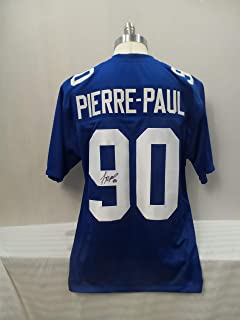 jason pierre paul signed jersey