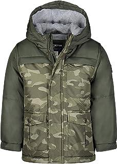 Boys' Heavyweight Colorblock Puffer Coat