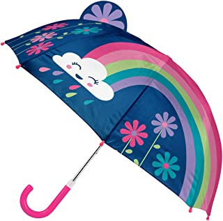 Stephen Joseph Kids' Toddler Pop Up Umbrella, Rainbow