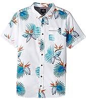 Rip Curl Kids - Manzanillo Short Sleeve Shirt (Big Kids)