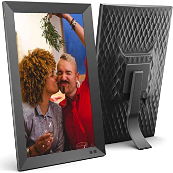 NIX 15 Inch Digital Picture Frame - Portrait or Landscape Stand, Full HD Resolution, Auto-Rotate, Remote Control - Mix Photos and Videos in The Same Slideshow