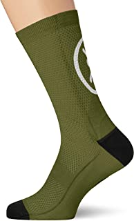 Socks Smile Green L/XL, Unisex Adulto, Verde, Medio