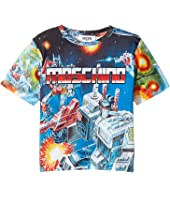 Moschino Kids - Transformers Digital Print Short Sleeve T-Shirt (Little Kids/Big Kids)