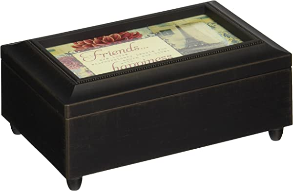 Carson Home Accents Friends Happiness Music Box