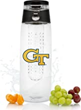 NCAA Georgia Tech Yellow Jackets 20oz Plastic Infuser Sport Bottle