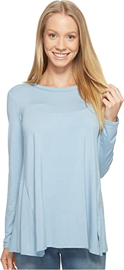 B Collection by Bobeau - Jade High-Low Hem Top