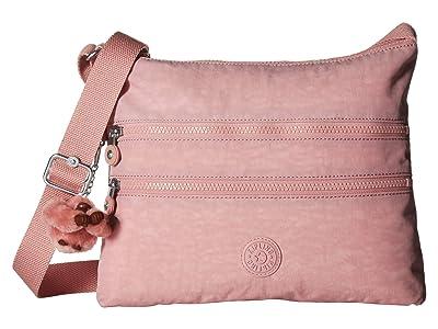 Kipling Alvar Crossbody Bag (Strawberry Pink) Cross Body Handbags