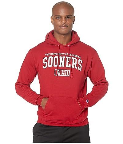 Champion College Oklahoma Sooners Eco(r) Powerblend(r) Hoodie (Cardinal 2) Men