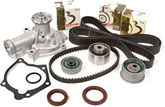 Evergreen TBK232WPT Fits Mitsubishi Eclipse Galant 2.4L SOHC 4G64 Timing Belt Kit Water Pump