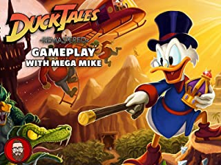 Ducktales Remastered Gameplay With Mega Mike