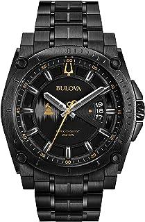 Bulova - Reloj Analógico para Hombre de Cuarzo con Correa en Acero Inoxidable 98B295