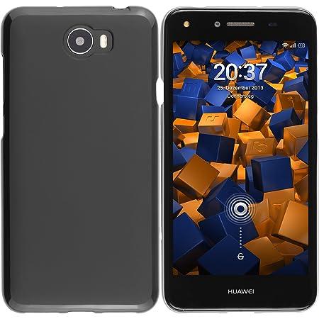 Mumbi Hülle Kompatibel Mit Huawei Y5 Ii Handy Case Handyhülle Schwarz Elektronik