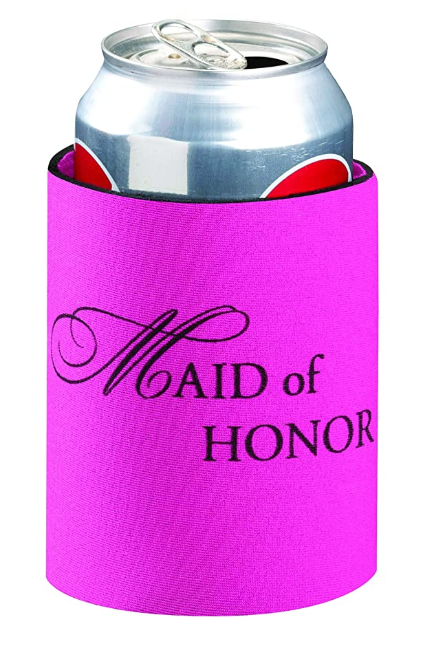 Lillian Rose Pink Maid of Honor Party Favors Can Cup Cozy