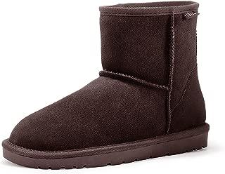 IDIFU Women's Stiletto Heels Side Ankle Boots