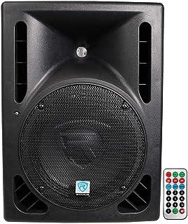 "Rockville RPG10BT 10"" Powered 600W DJ PA Speaker BlueTooth, USB, SD, Remote"
