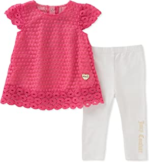 Juicy Couture Girls 2 Pieces Tunic Sets