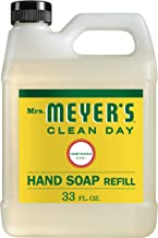 Mrs. Meyer's Clean Day Liquid Hand Soap Refill, Honeysuckle Scent, 33 ounce bottle, Pack of 6
