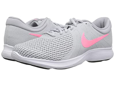 Nike Revolution 4 (Pure Platinum/Sunset/Pulse/Wolf Grey) Women