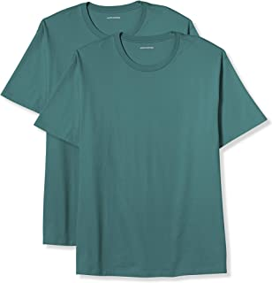 Amazon Essentials Men's Big & Tall 2-Pack Short-Sleeve Crewneck T-Shirt fit by DXL