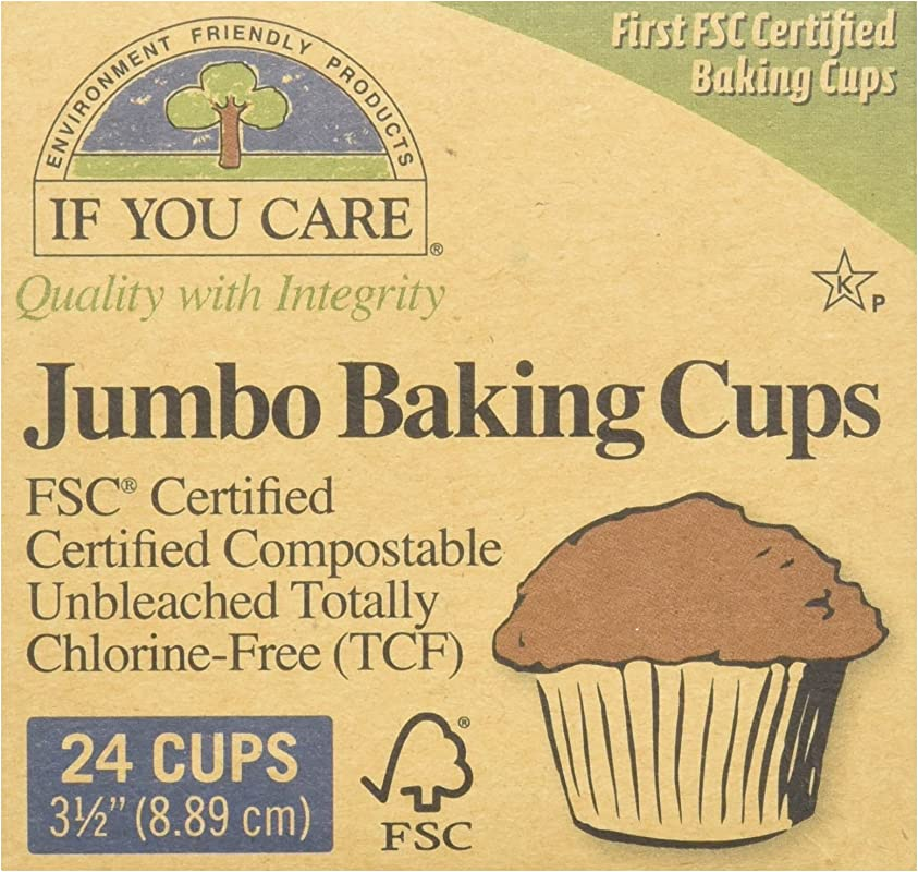 IF YOU CARE 030772 8 Baking Cups