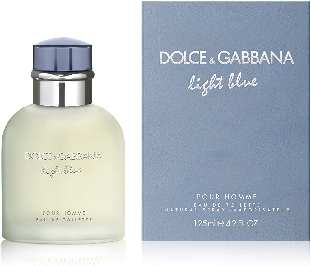 Dolce & gabbana light blue homme 125ml eau de toilette uomo 153501