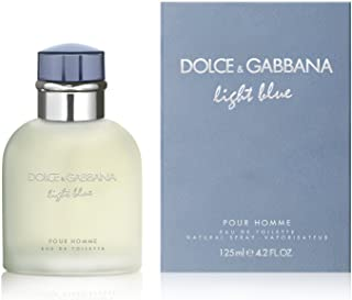 D & G Light Blue توسط Dolce & Gabbana For Men ادو تویلت اسپری، 4.2 اونس