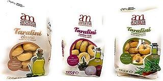 Aroma Mediterranea Taralini 3 Pack Fresh Baked Breadsticks [Imported from Croatia]