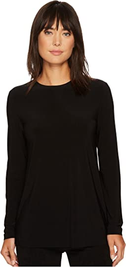 KAMALIKULTURE by Norma Kamali Long Sleeve Crew Top