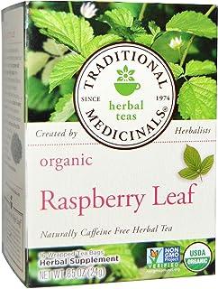 Traditional Medicinal`s Raspberry Leaf Tea (3X16 Bag) Net Wt. 0.85 Ounce