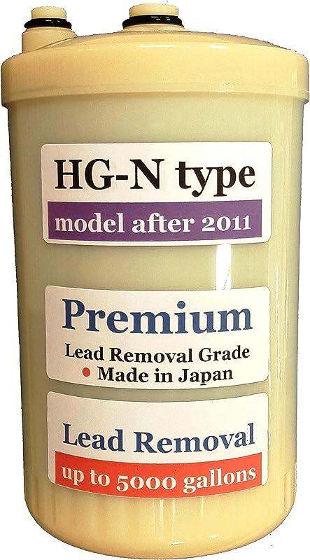 Japan Made HG N Type Premium Grade Compatible Filter For Enagic Kangen SD501HG N HG N After 2011 Newer Model Not Compatible With Original HG Before 2010 Models