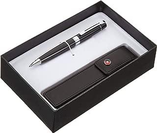Sheaffer 300 Black Paint Ballpoint Pen with Pen Case
