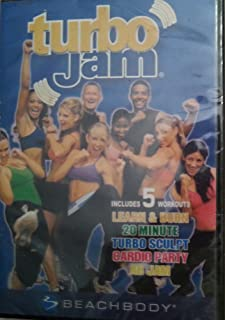 Turbo Jam (DVD Set - Includes 5 Workouts: Learn & Burn, 20 Minute, Turbo Sculpt, Cardio Party, Ab Jam)