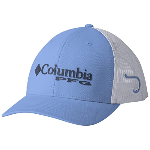 96e687ef Columbia Men's PFG Mesh Snap Back Ball Cap, Sun Protection