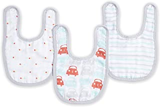 Ideal Baby Ideal Baby snap Bibs 3-Pack 3-Pack; Road Trip 3-Pack