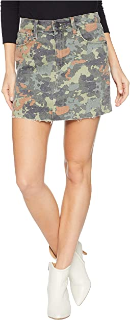 The Viper Mini Skirt in German Camo