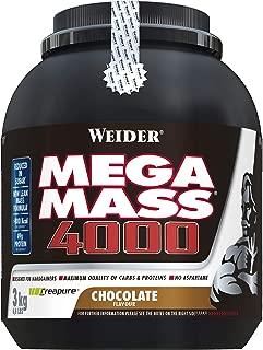 Weider Nutrition Mega Mass 4000 Chocolate Powder 3000g