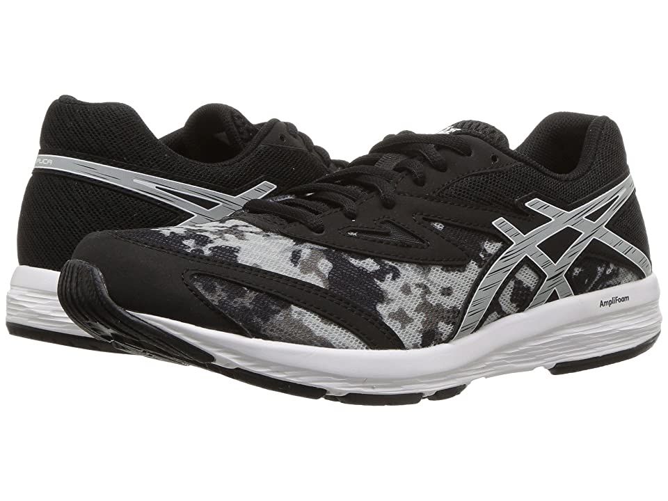 ASICS Kids Amplica (Big Kid) (Black/Mid Grey) Boys Shoes