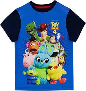 Disney Camiseta de Manga Corta para niños Toy Story