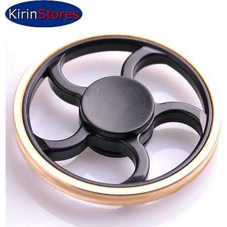 Kirinstores(TM) ラウンドホイール フィジェットスピナー round wheel shaped finger Fidget Spinner ストレス解消 集中力 向上 ハンドスピナー