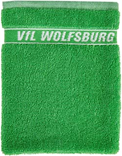 VfL Wolfsburg Waschlappen Waschhandschuh Logo 16 x 21 cm VFL