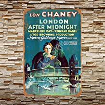 TarSign 1927 Lon Chaney in London After Midnight Vintage Wall Decor Plaque Decoration Metal Tin Sign 12