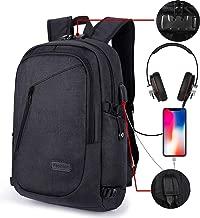 AMAZINGBAG Waterproof Backpack-Comfortable School Bookbag-For 15.6 Inches Laptop