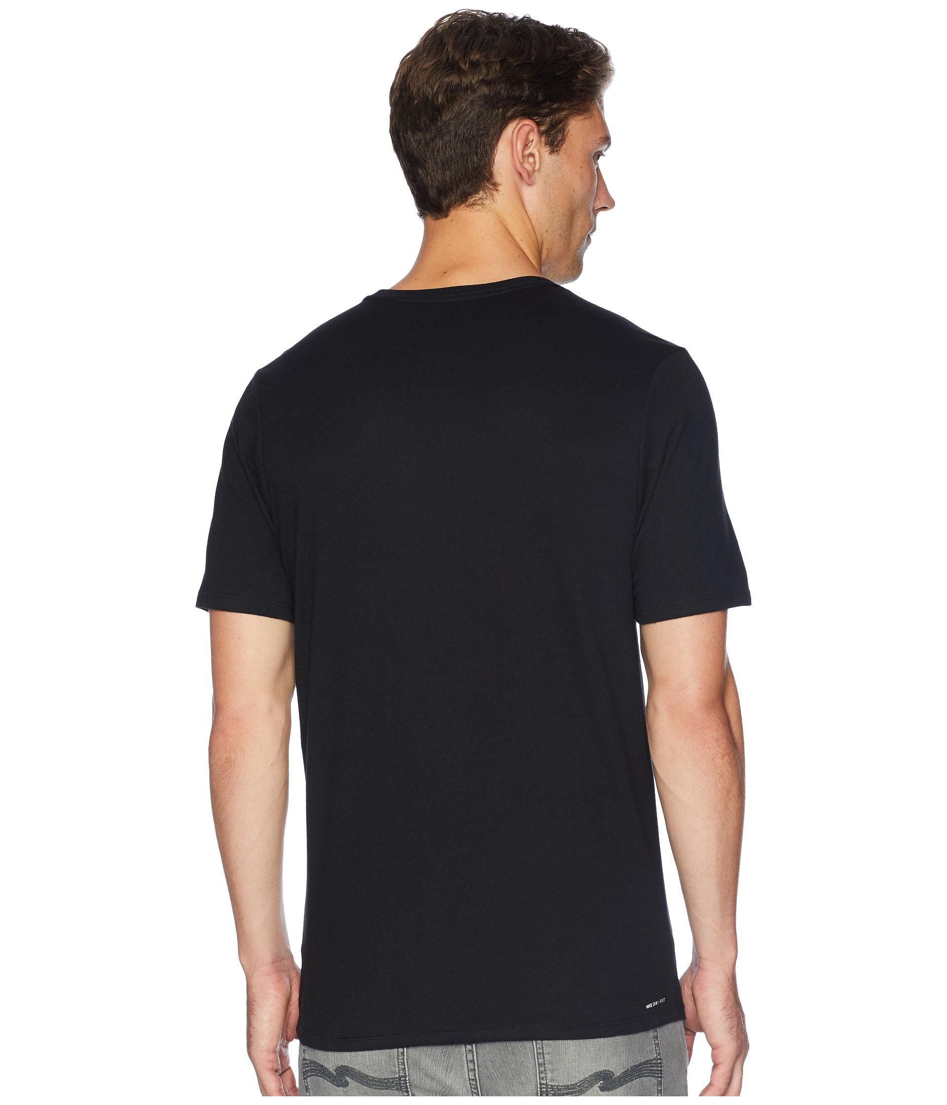 Dri Hurley Black Tee Staple fit FqBpR4w