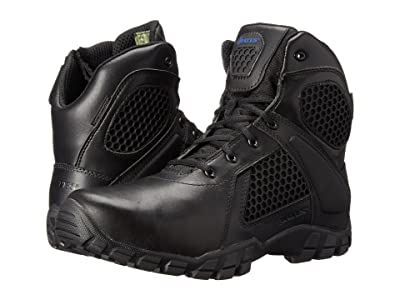 Bates Footwear Shock 6 Side Zip (Black) Men