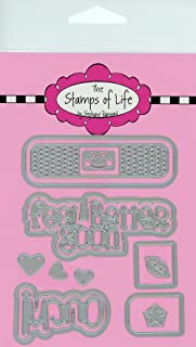 The Stamps of Life Bandage Die Cuts for Card Making Scrapbooking and DIY Crafts by Stephanie Barnard - Set of 14 Bandage Dies