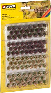 Noch 7014 Tufts Wild Flowers 6-12mm  G,0,H0,TT,N,Z Scale