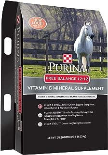 Purina Free Balance 12:12 Horse Supplement, 25 lb Bag