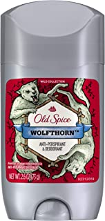 Old Spice Wild Collection Invisible Solid Antiperspirant Deodorant, Wolfthorn, 2.6 Ounce (Pack of 2)